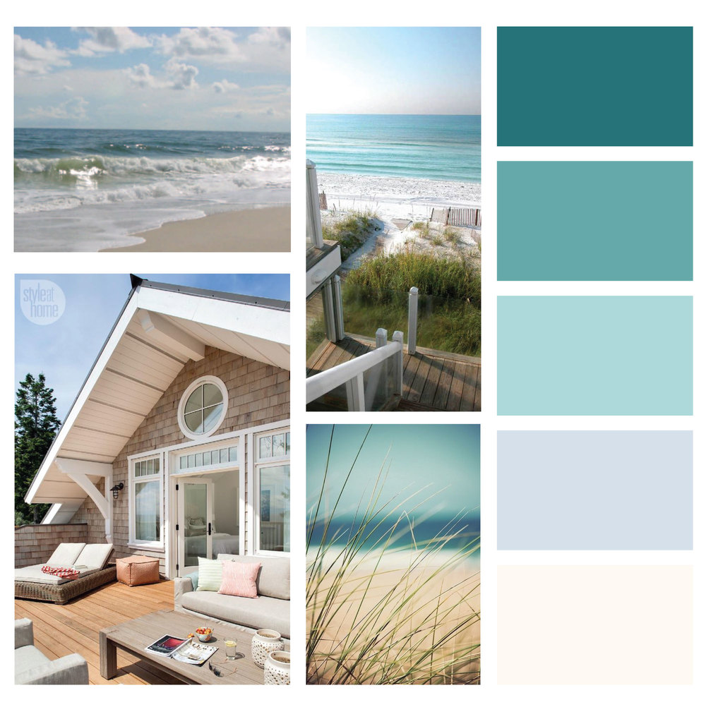 The simple and soulful brand palette for Diane Schade NP was inspired by the soft whites, pale blues, and shimmering greens of the ocean.