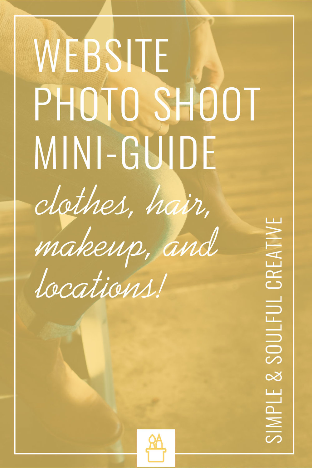A mini-guide to help you prepare for your website photoshoot. Learn what to wear, how to do your makeup, what lighting to use, how to orient the shots, and more!