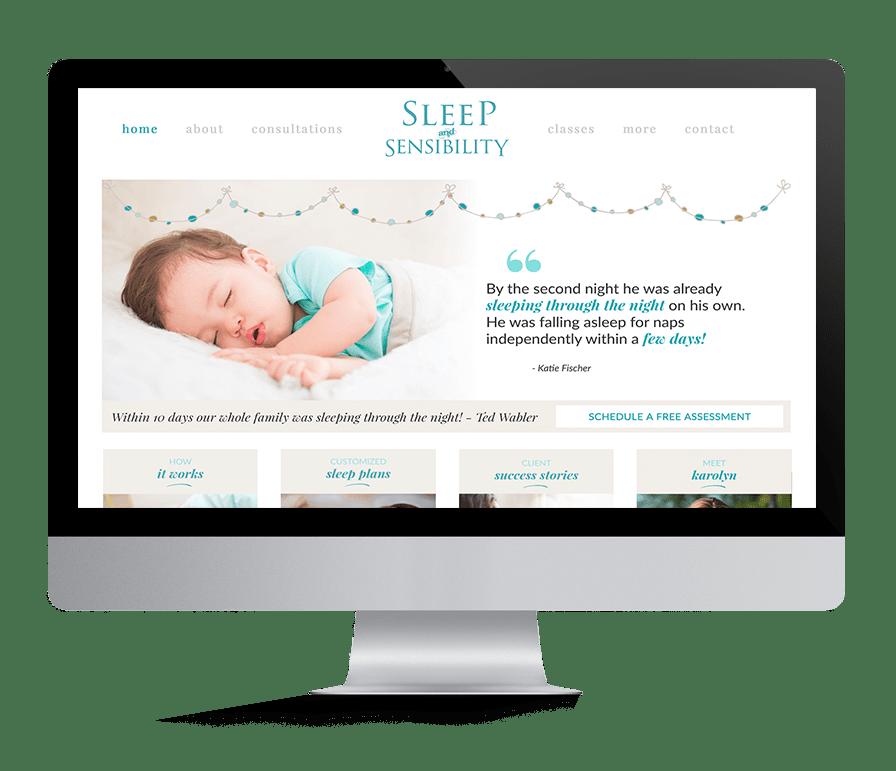 Squarespace Website Designer for Consultants