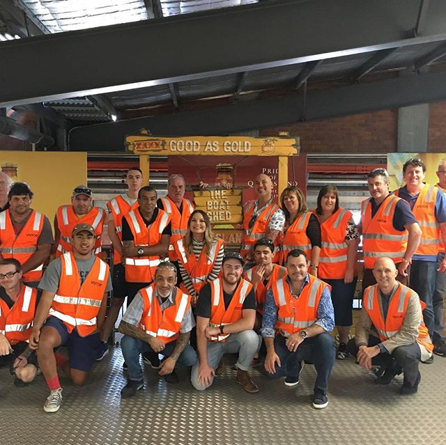 A well earned break.. after a lot of hard work we though the team could do with a few beers. Our recent tour of the Brisbane xxxx brewery