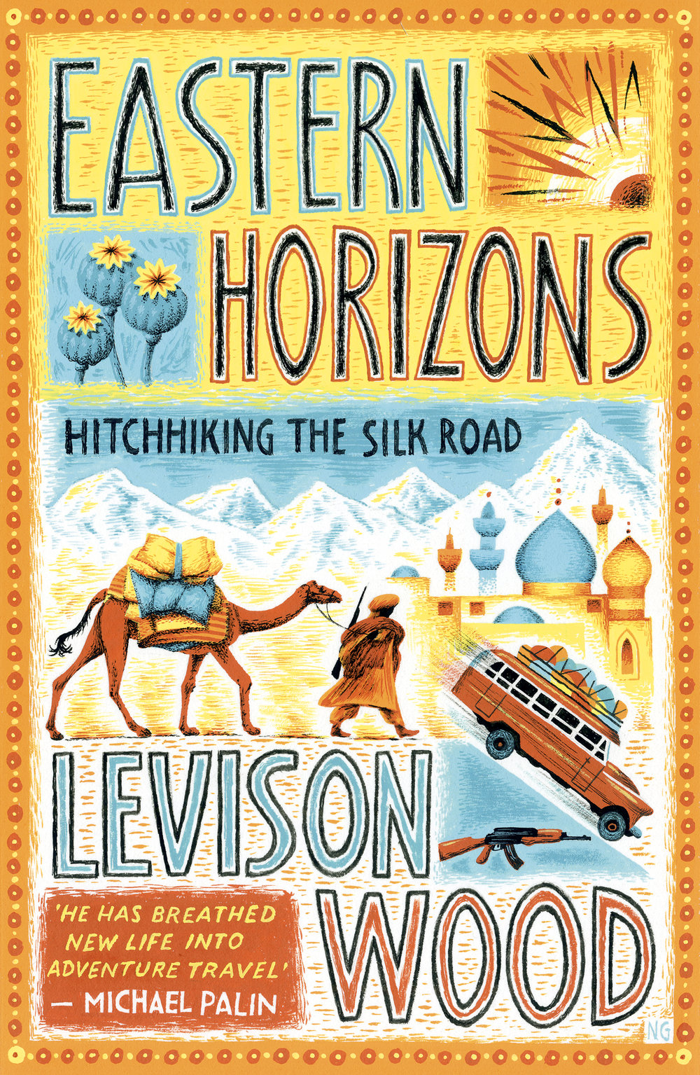 Eastern Horizons will be published by Hodder & Stoughton on November 2nd 2017. Available to pre-order here.