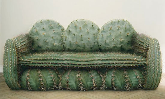 "Axn: ""Cactus sofa"" Print Ad by Italian advertising agency 1861 United"