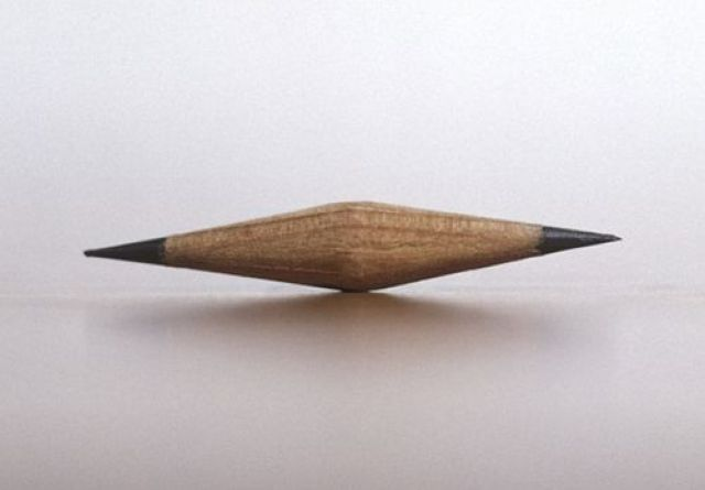 A sharpened pencil by Kenzee Patterson.