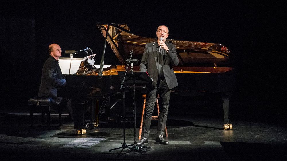 East West Street, Australian Tour. Pianist Guillaume de Chassy, Bass Baritone Laurent Naouri. Photo Integrity 20