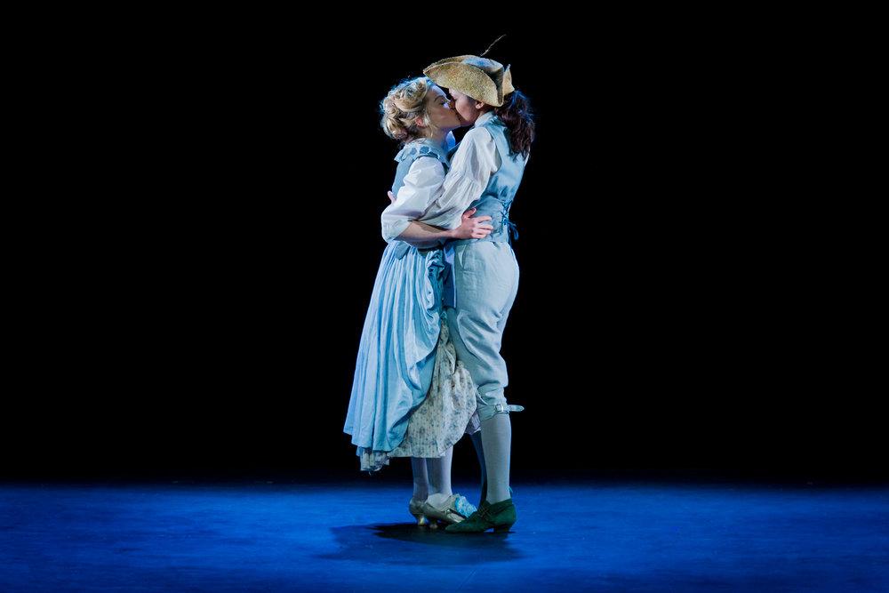 Il Re Pastore, Opera Scenes, Royal College of Music. Photograph Robert Workman