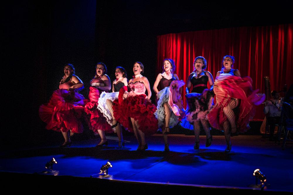 The Merry Widow, Ryedale Festival Opera. Designer Maira Vazeou, Lighting Designer Tom Boucher. Photograph © Gerard Collett