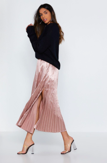nasty gal pleated skirt.png
