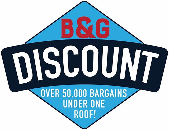 Logo design for the legendary @bandgdiscount in Schoolcraft ✅🙌
