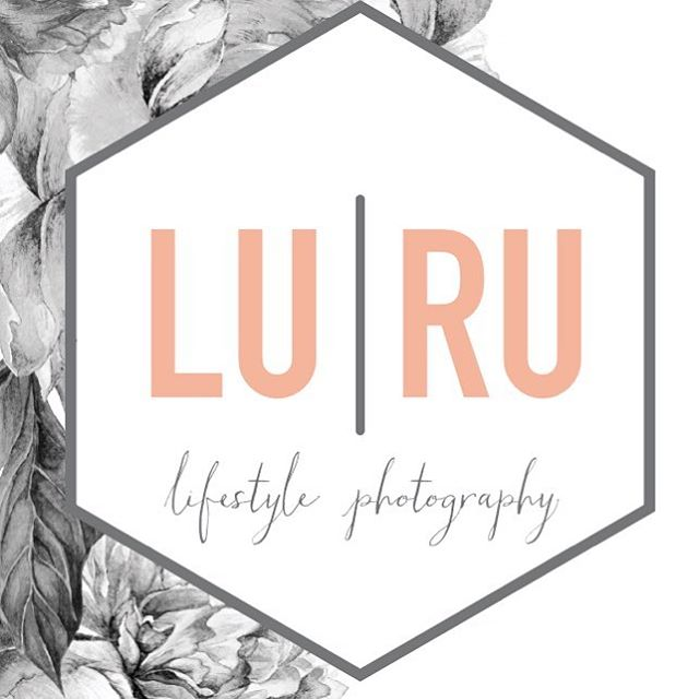 Logo design for LURU Photography #logo #geometric #luruphoto #love
