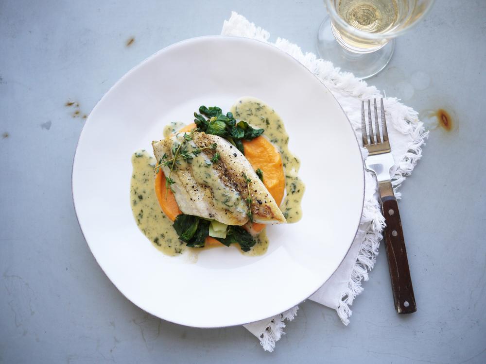 Pan-Roasted Mackerel With Sweet Potatoes Recipes — Dishmaps
