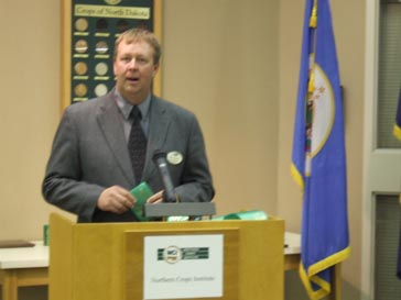 Mark Jossund, Minnesota Wheat Research and Promotion Council