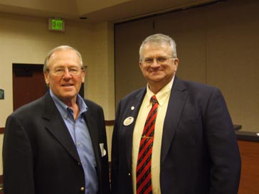 Randy Englund and Laird Larson, both represent the South Dakota Wheat Commission.