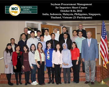 Soybean buyers from seven Southeast Asian nations — Northern