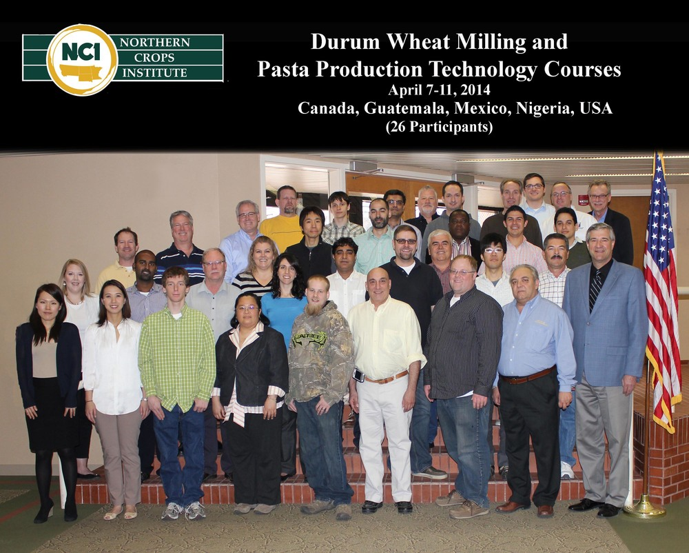 2014 Durum Milling and Pasta Production Technology course.jpg