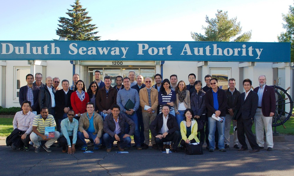 2014 Grain Procurement SC Sept at Duluth Port4.jpg