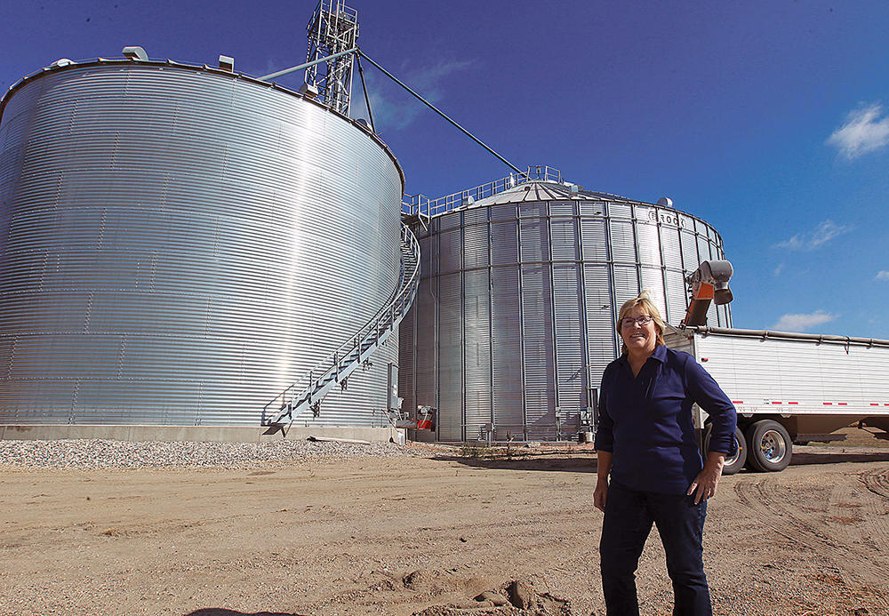 Karolyn Zurn says that she has driven many a tractor, combine and farm truck during her 43-year marriage to husband Bill. Today she spends much of her time serving as an advocate for the agriculture industry. (Forum News Service)