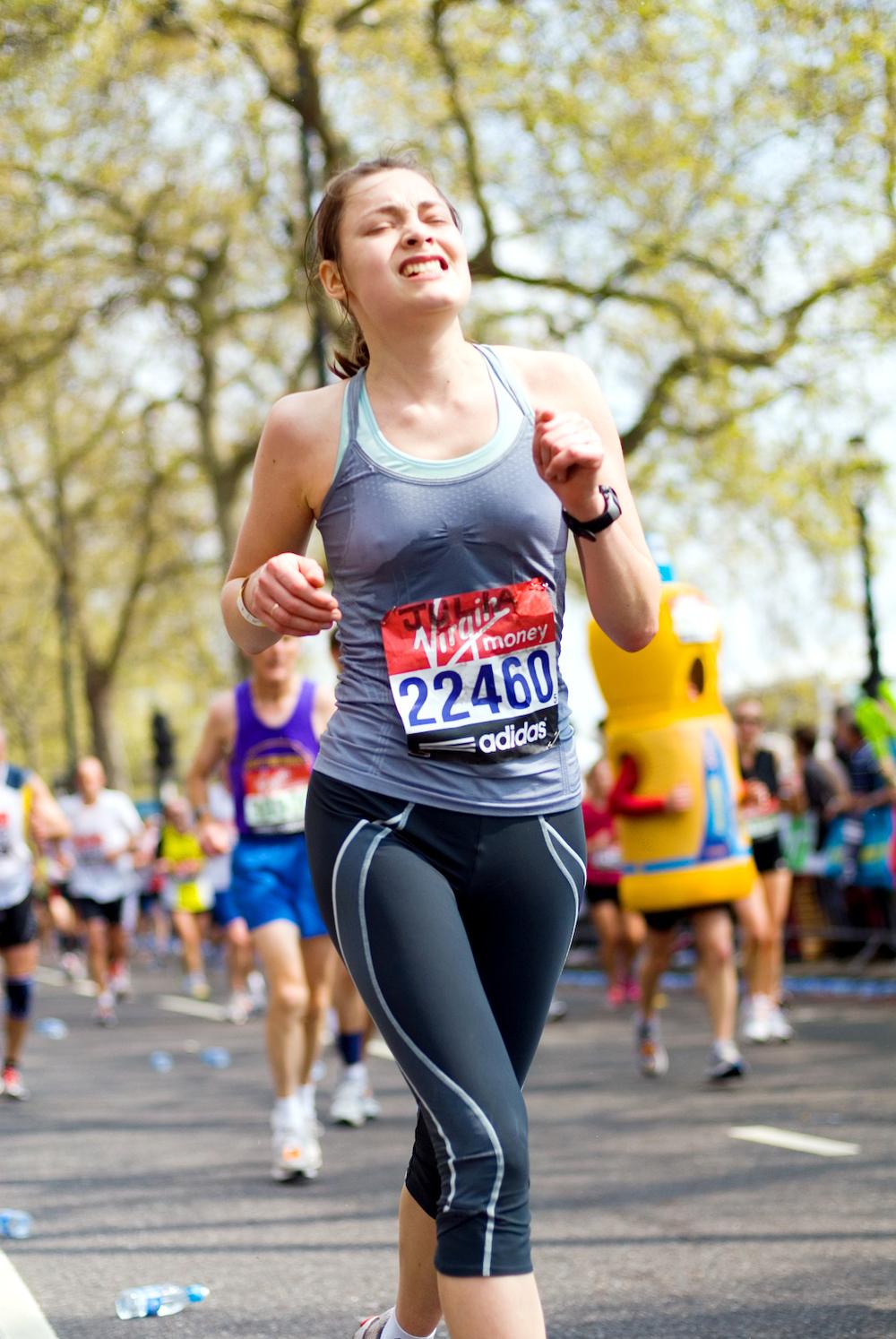 London Marathon 2011 - Mile 24.75
