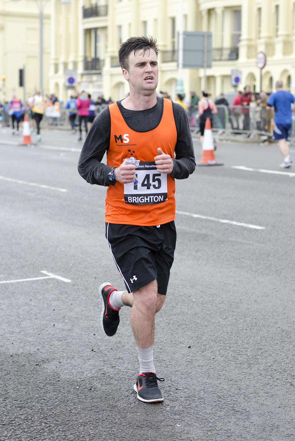 Brighton Marathon 2014 - Mile 24.75