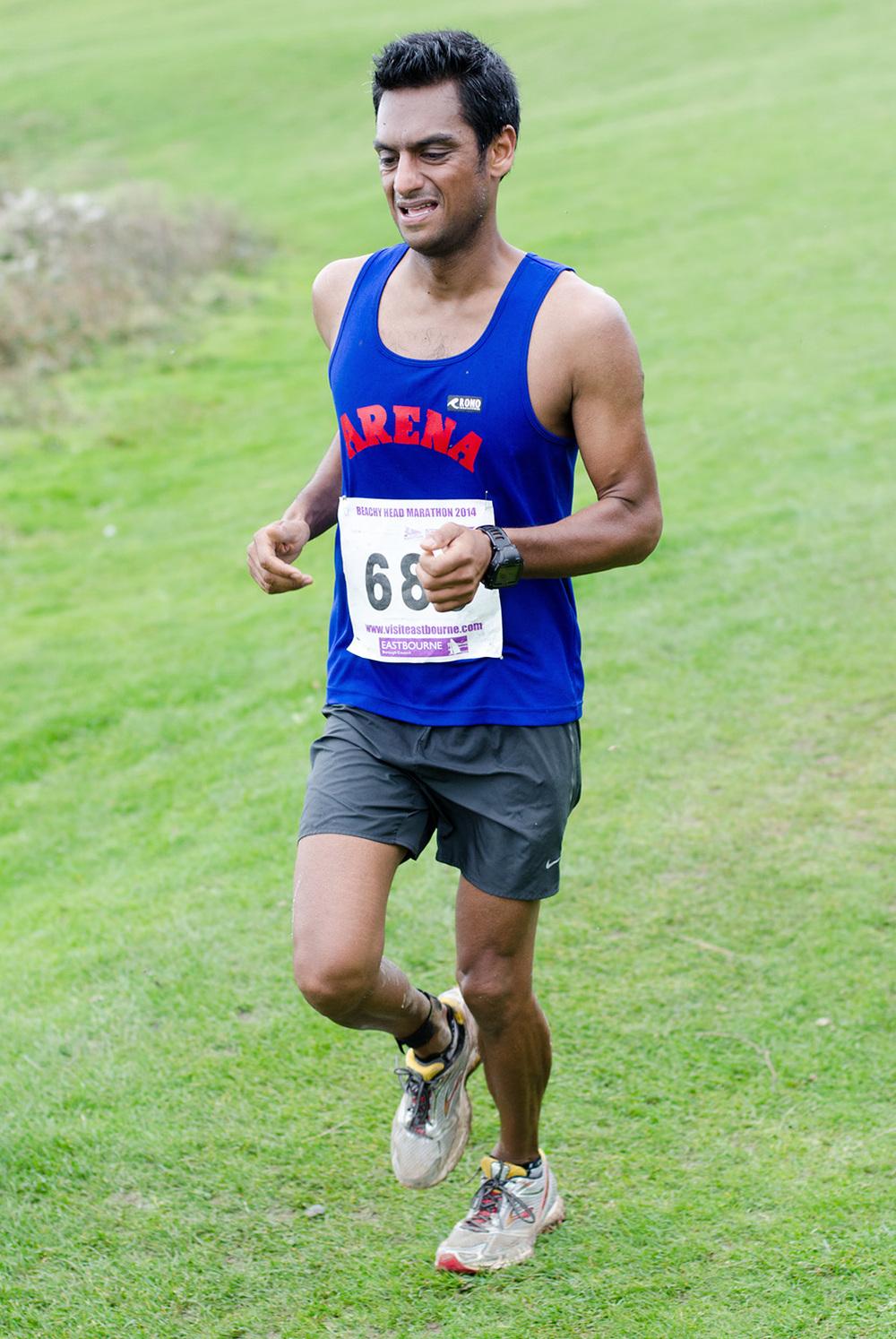 Beachy Head Marathon 2014 - Mile 24.75