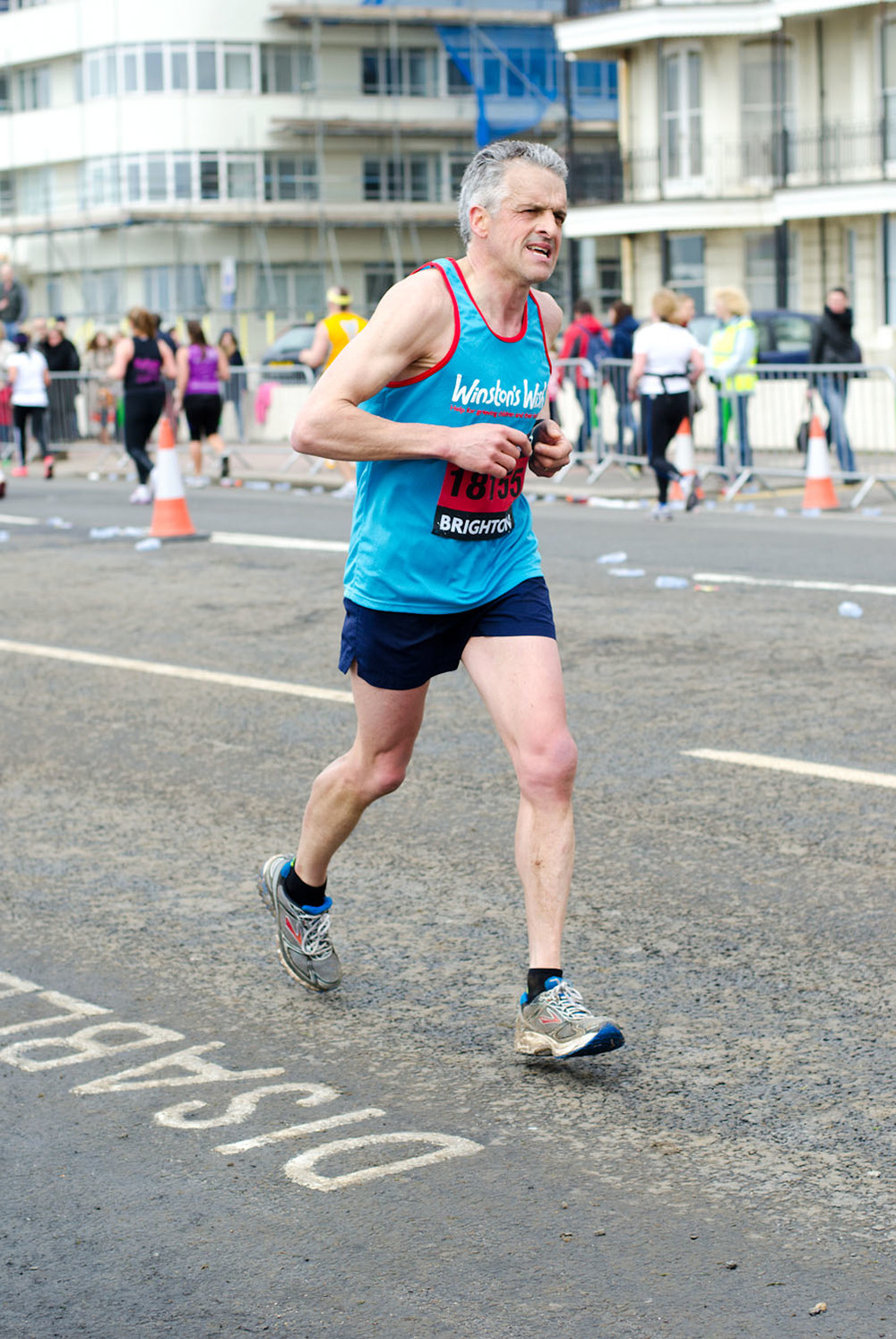 Brighton Marathon 2013 - Mile 24.75