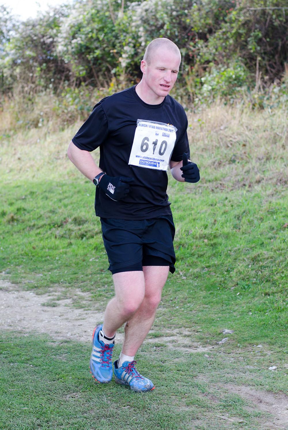 Beachy Head Marathon 2012 - Mile 25