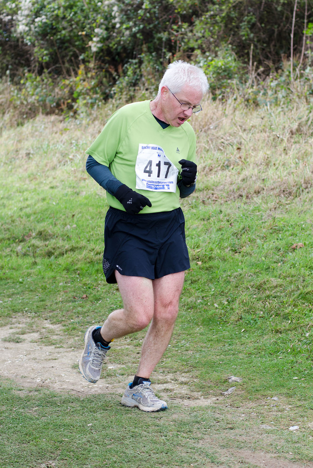 Beachy Head Marathon 2012 - Mile 25