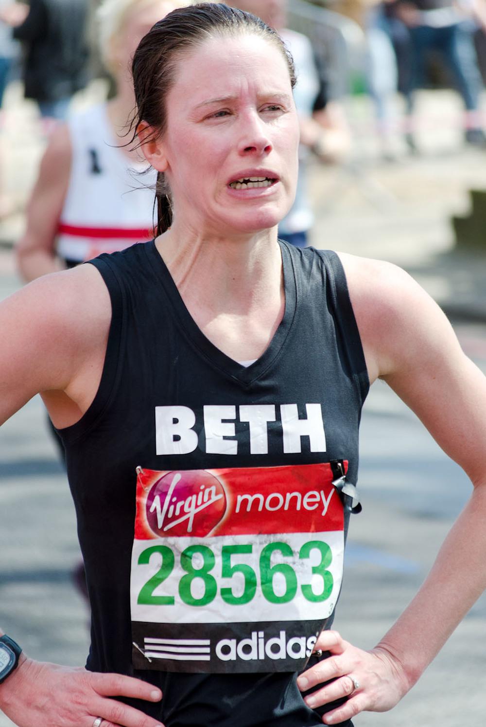 London Marathon 2013 - Mile 24