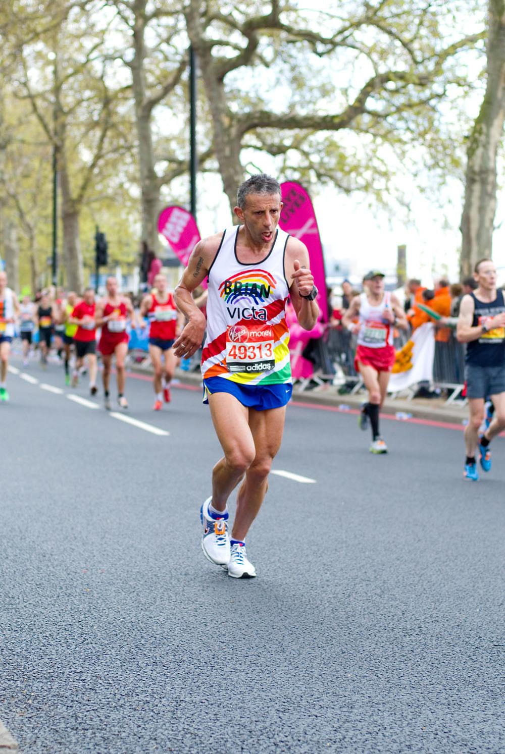 London Marathon 2012 - Mile 24.5