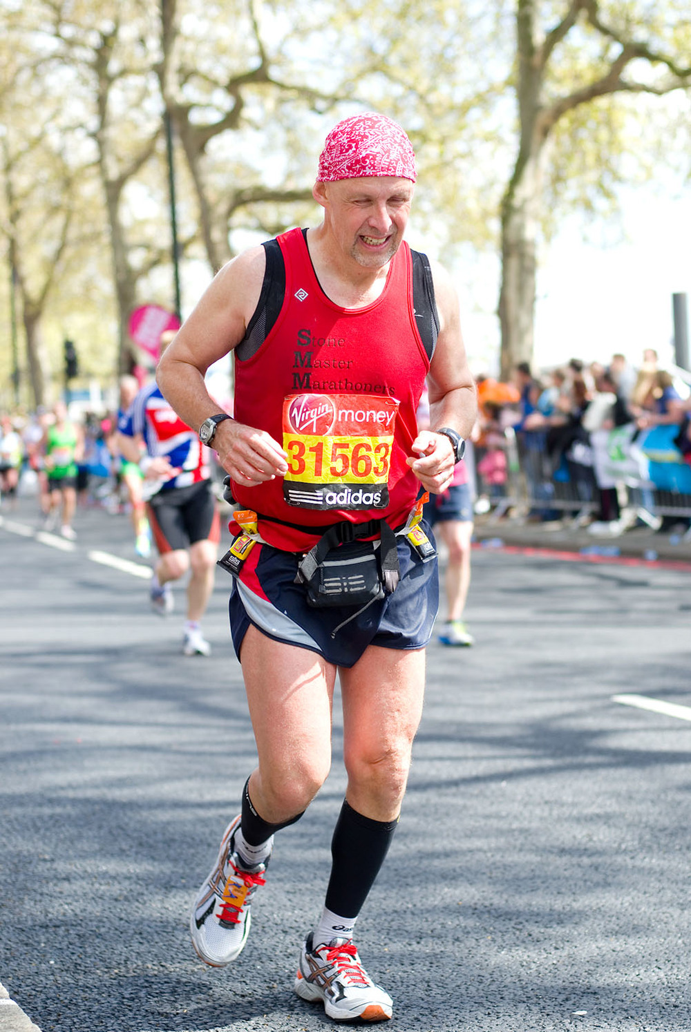 London Marathon 2012 - Mile 24.5