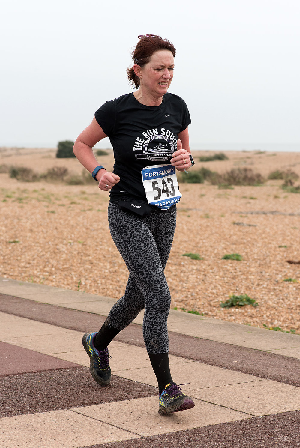 Portsmouth Coastal Waterside Marathon 2016 - Mile 24.5