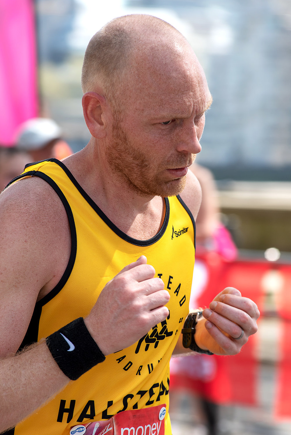 London Marathon 2018 - Mile 24.25