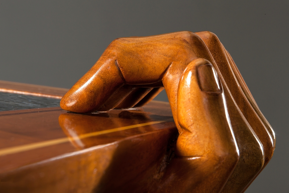 BisonHeart Woodworking Hand Detail