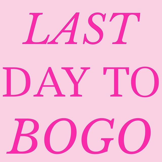 TOMORROW IS THE LAST DAY! Come save BOGO FREE on all 2-14! #DotKidz