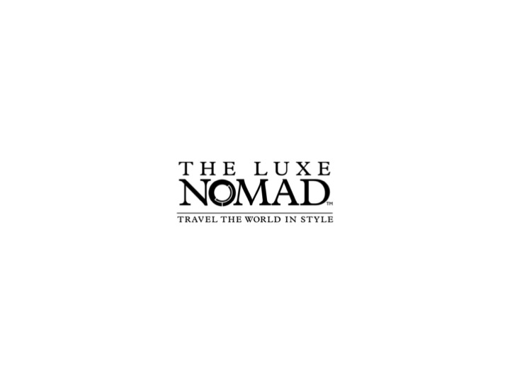 The Luxe Nomad - Happy Bold Italic