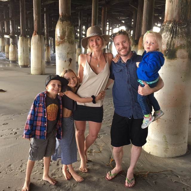 my bunch at the beach