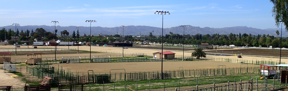 Outdoor Arenas viewed from the Red Barn