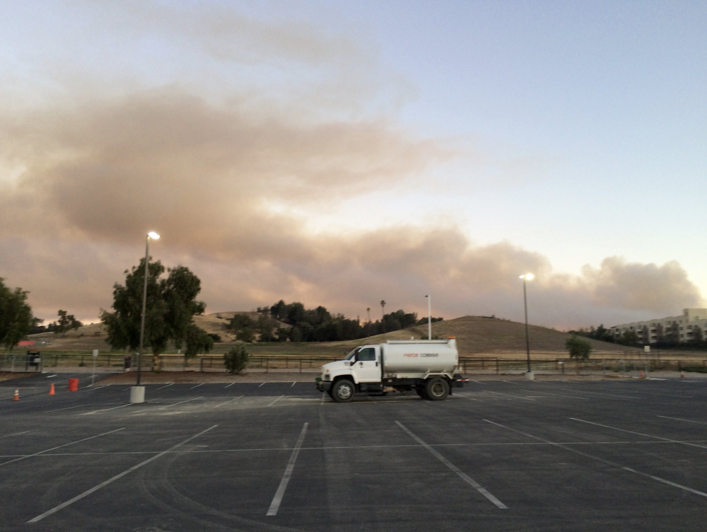 Old Fire June 2016 from the Pierce College Equine Center looking South.