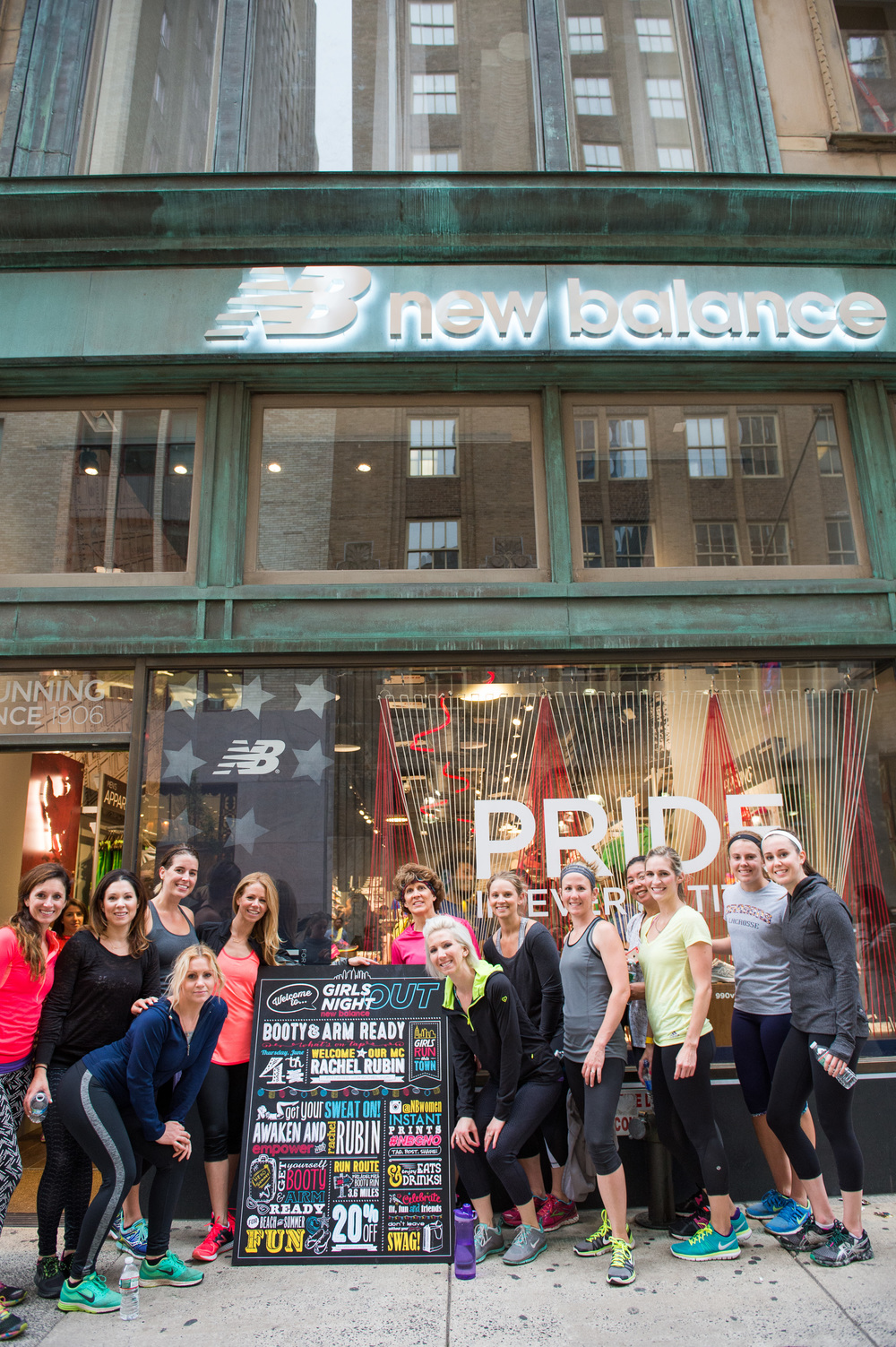 ae385ff48adde This summer I'm lucky enough to be bringing Girls Night Out to Philly with  the New Balance team! This city, my hometown, is the perfect place for this  ...