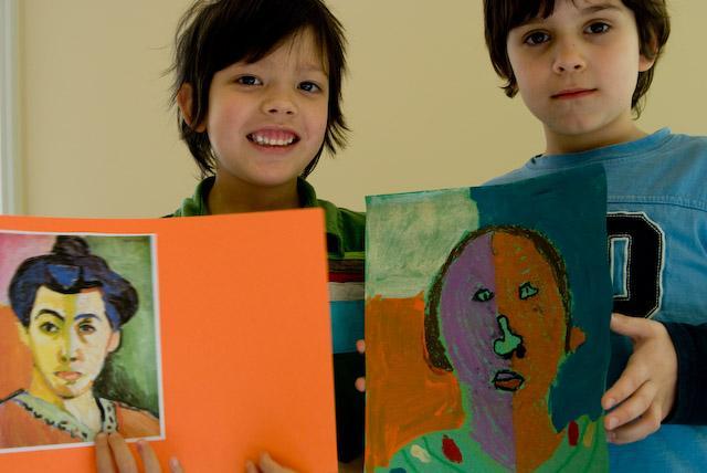 Childrens Art class Spring 2010.jpg