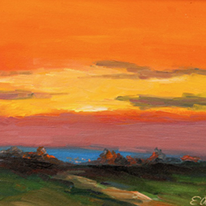 efim anghel painting Gold Sunset.jpg