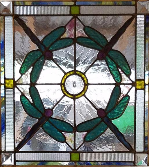 Leaded glass panel - Lisa C. Green