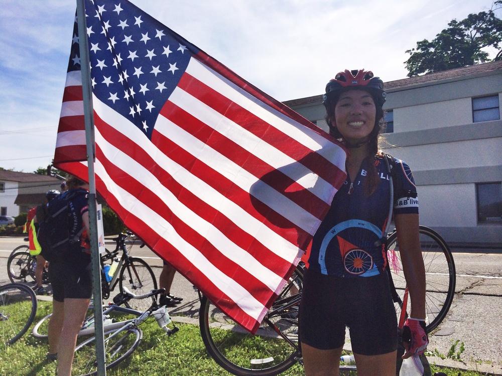 Being patriotic!