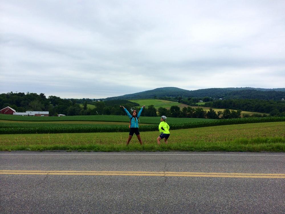 In the farmland of Pennsylvania!
