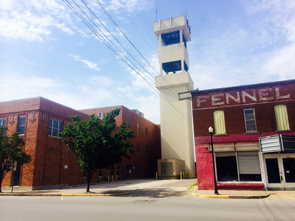 A somewhat deserted town - Moberly, Missouri