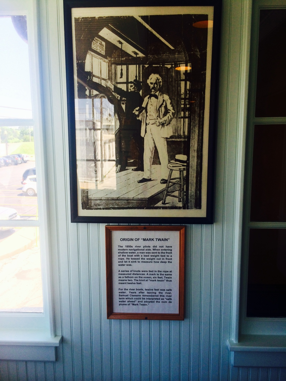 We had a very short ride day (36 miles) and got to go to the Mark Twain Museum in Hannibal, Missouri. I felt so uneducated - I didn't realize Mark Twain was a pen name and his real name was Samuel Clemens!