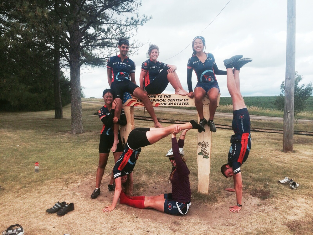Bike and Build and Acrobatics!