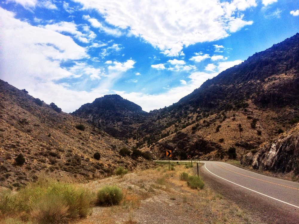 Some long Nevada climbs