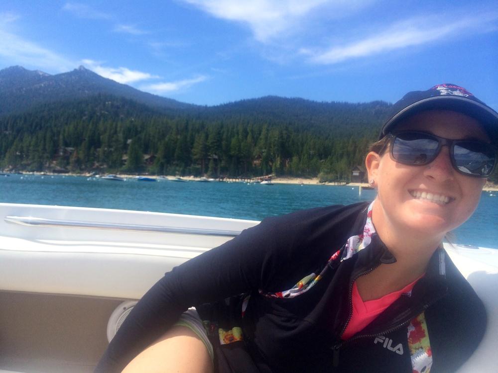 Sunny sailing Sarah