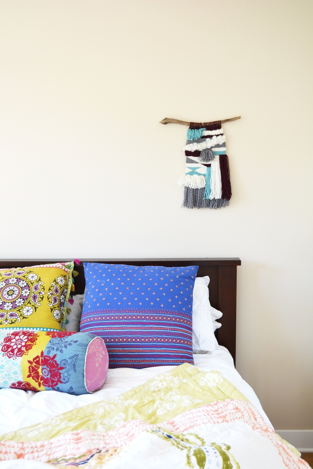 Woven Wall Hanging Tapestry - Bed