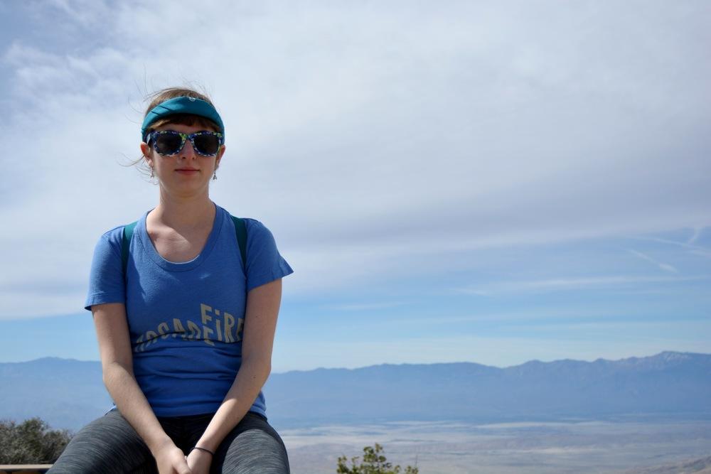 Emily at Keys View